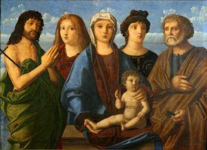 Bogorodica s Djetetom, svetima Ivanom i Petrom i donatorima