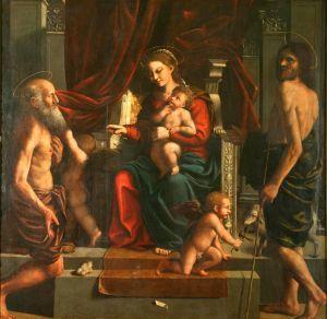 Bogorodica s Djetetom i svetima Jeronimom i Ivanom Krstiteljem