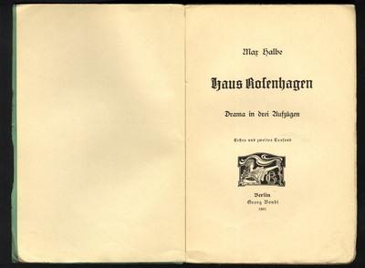 Image from object titled Haus Rosenhagen