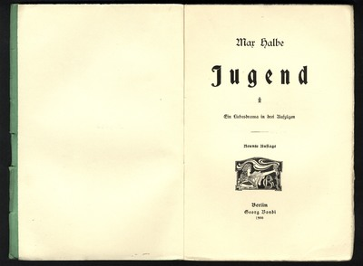 Image from object titled Jugend