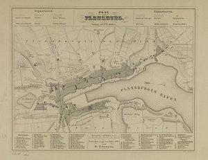 Karte Von Flensburg 1849 Europeana Collections