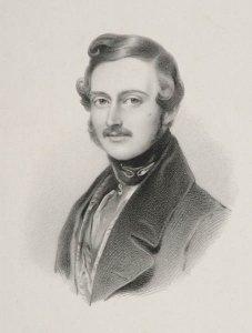 Bildnis von Albert (1819-1861), Prinzgemahl der Königin Victoria von England