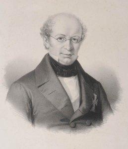 Bildnis von Johan Nicolai Madvig (1804-1886)