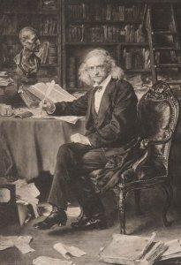 Bildnis von Theodor Mommsen (1817-1903)