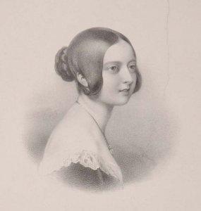 Bildnis von Victoria (1819-1901), Königin von Großbritannien und Irland