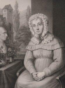 Bildnis von Ernestine Voß (1756-1834)