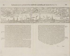 Lübeck, Stadtansicht von Osten