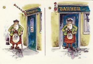 JOHN HINDE: DER BARTSCHNITT