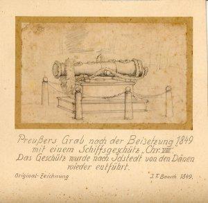 "Image from object titled ""Preußers Grab nach der Beisetzung?"""
