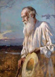 Bildnis des Grafen Tolstoi