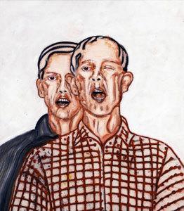 The Meeting (Double portrait)
