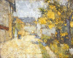 Straße in Weimar