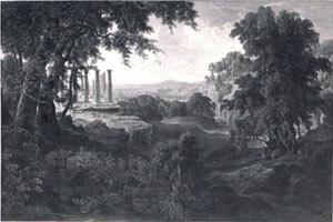 Der Tempel von Phigalia
