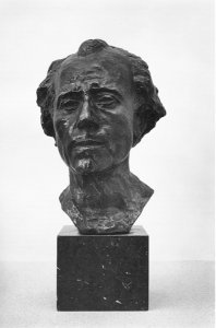 Der Komponist Gustav Mahler, 1909