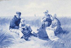o.T. (Holländische Familienszene)
