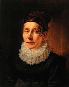 Bildnis der Sophia Maria Johannsen, geb. Petersen. Ehefrau des F. Johannsen