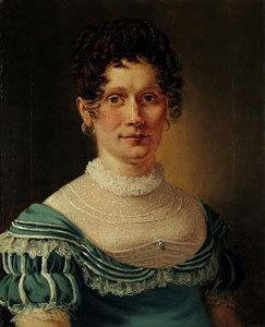 Bildnis der Anna Petersen-Schmidt, geb. Christiansen