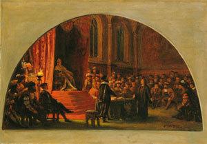 Luther vor dem Reichstag in Worms
