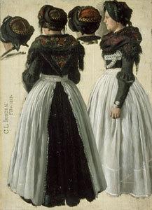 Zwei Friesinnen von Föhr