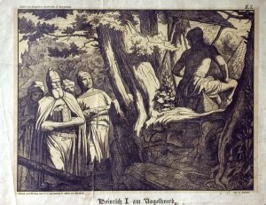 Heinrich I. am Vogelheerd