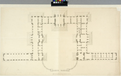 Slottet Clagny. Plan