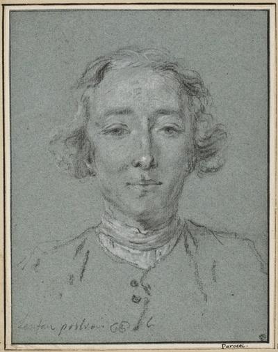 Porträtt av konstnären Pierre Lenfant