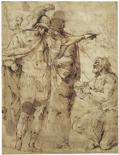Alexander den Store och kung Pyrros