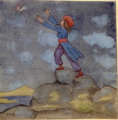 Trollkarlen och kvinnofågeln