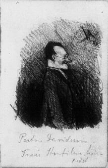 Karikatyr av präst