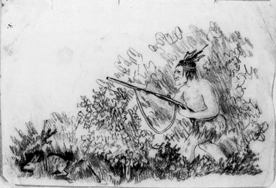 Indian på kaninjakt