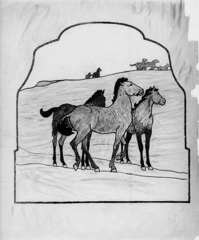Hästar på Alvaret
