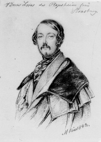 Baron Zorn de Plopsheim från Strasburg