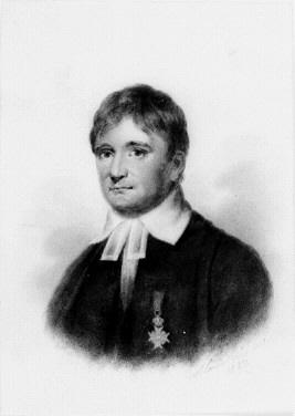Porträtt av dr C P Hagberg