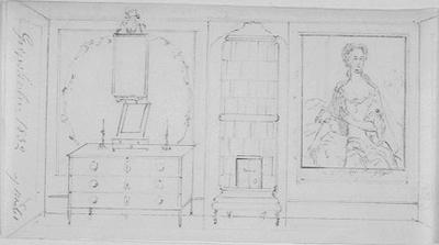 Drottning Sofias toalettrum på Gripsholm