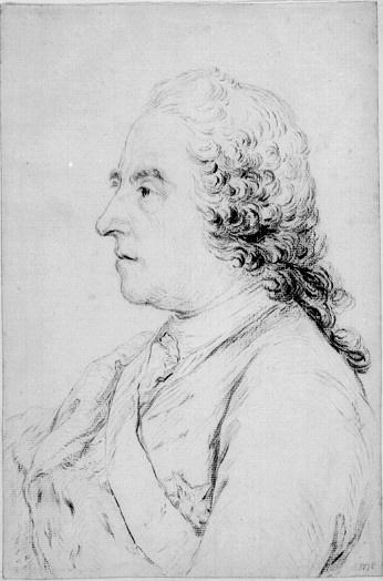 Carl Gustaf Tessin, bröstbild