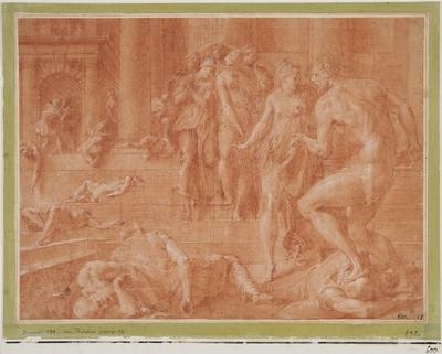 Odysseus låter döda Penelopes tjänare