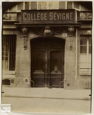 PORTE, HOTEL MACHELET DE VELYE (ANCIEN COLLEGE SEVIGNE), 10 RUE DE CONDE, 6EME ARRONDISSEMENT, PARIS