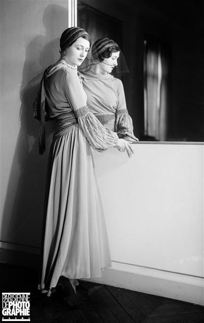 ROBE POIRET. PARIS, 1931.