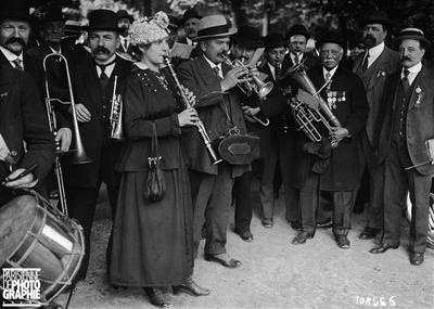 Musiciens ambulants à Paris