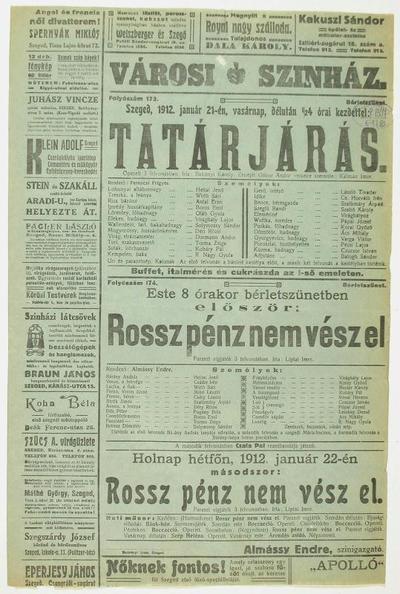 Image from object titled Tatárjárás ; Rossz pénz nem vész el