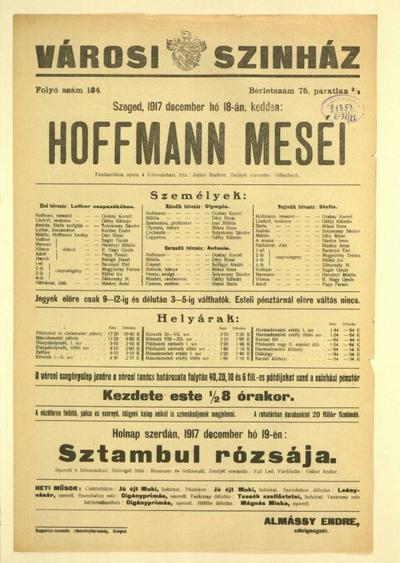 Hoffmann meséi