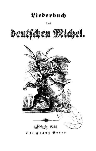 Image from object titled Liederbuch des deutschen Michel
