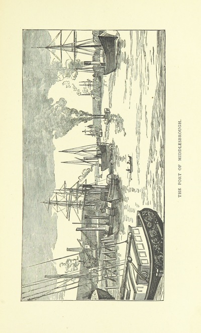"""Image from object titled Middlesbrough from """"Industrial rivers of the United Kingdom ... By various well-known experts, etc. [Edited by Evan Rowland Jones. Reprinted from the """"Shipping World"""".]"""""""