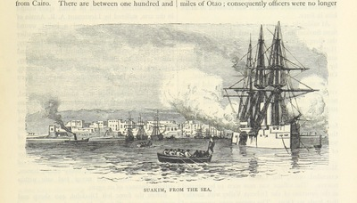 """Image from object titled ship from """"British Battles on Land and Sea. With numerous illustrations"""""""