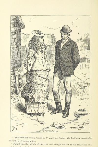"""Image from object titled squire from """"The Cheveley Novels. [By Valentine Durrant.]"""""""