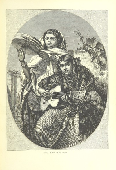 "Gypsy from ""Spanish Pictures drawn with pen and pencil. By the author of ""Swiss Pictures"" [S. Manning] ... With illustrations by G. Doré, etc"""