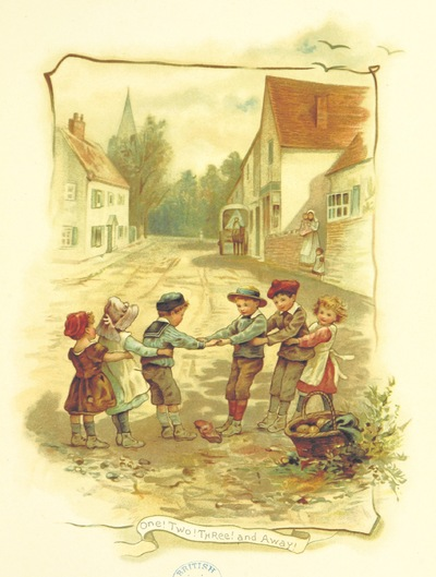 """Image from object titled play from """"Bonnie Bairns. Illustrated by H. Jackson. Edited by Edric Vredenburg. Verses by E. M. Chettle, etc"""""""