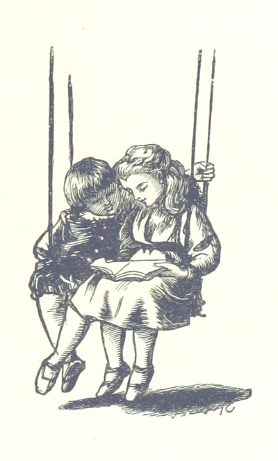 "Boy from ""[Sing-Song. A nursery rhyme book. ... With ... illustrations by A. Hughes, etc.]"""