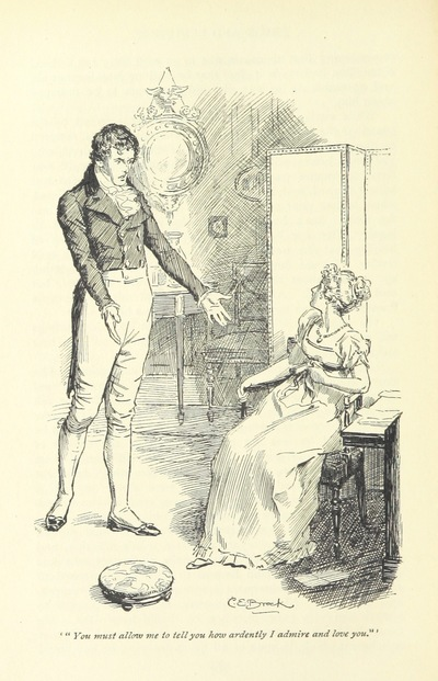 """Image from object titled Elizabeth from """"Pride and prejudice"""""""