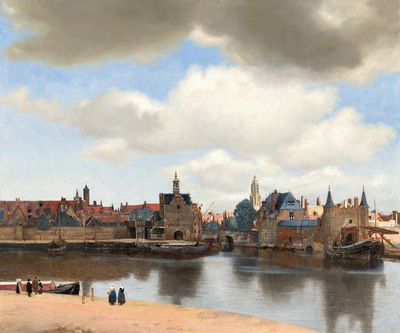 Image from object titled View of Delft